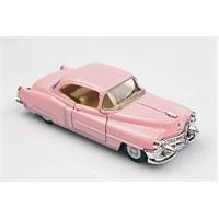 Pembe 1953 Cadillac Series 62 1/43 Çek Bırak Die-Cast Model Araç