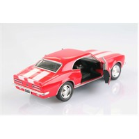 Kırmızı 1967 Camaro Z-28 1/37 Çek Bırak Die-Cast Model Araç