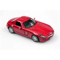 Kırmızı Mercedes-Benz Sls Amg 1/36 Çek Bırak Die-Cast Model Araç