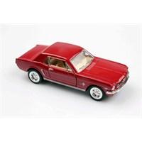 Kırmızı 1964 1/2 Ford Mustang 1/36 Çek Bırak Die-Cast Model Araç