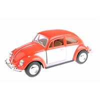 1967 Volkswagen Classical Beetle 1/32 Çek Bırak Die Cast Model Araç