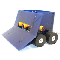 Robotus Titan Sumo Robot Kiti ( Mekanik Set ) + Sensörler