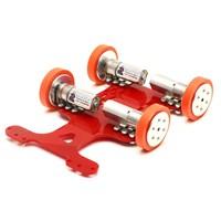 Robotus Hızlı Çizgi İzleyen Robot Kiti (Mekanik Set)