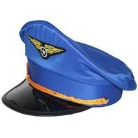 Pandoli Mavi Renk Pilot Şapkası