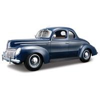 Maisto Ford Deluxe Tudor 1939 Model Araba 1:18 Special Edition Lacivert