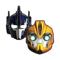 KullanAtMarket Transformers 2 Maske 6 Adet