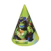 KullanAtMarket Ninja Turtles Parti Şapkası 6 Adet