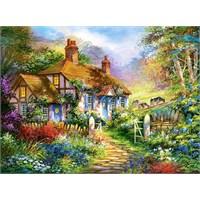 Castorland 3000 Parça Forest Cottage Puzzle