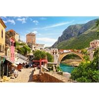 Castorland 1500 Parça Mostar Köprüsü Puzzle