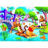 Winnie The Pooh 24 Parça Çocuk Puzzle (Clementoni 24454)