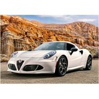 500 Parça Alfa Romeo 4C - Castorland Puzzle