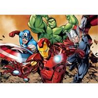 Avengers (Yenilmezler) 24 Parça Maxi Çocuk Puzzle (Clementoni 24037