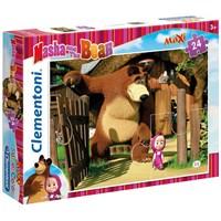 Maşa Ve Ayı 24 Parça Maxi Çocuk Puzzle (Clementoni 24032)