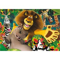 Clementoni 24044 Madagascar Maxi Çocuk Puzzle (24 Parça)