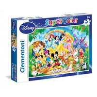 Clementoni 60 Parça Disney Prensesler Puzzle
