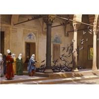 Ravensburger Haremde Güvercin Besleyen Cariyeler (1000 Parça, Osmanlı Klasikleri)