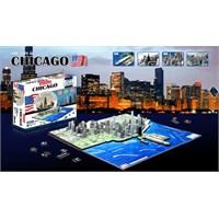 4D Cityscape Chicago Puzzle