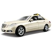 Maisto Mercedes E-Class Taxi Model Araba 1:18 Krem