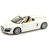 Maisto Audi R8 Spyder Diecast Model Araba 1:24 Special Edition Beyaz