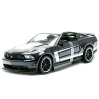 Maisto 1:24 Ford Mustang Boss 302 Model Araba Siyah
