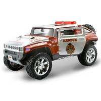 Maisto Hummer Hx Concept Diecast Model Araba 1:24 AllStars Kırmızı