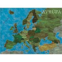 Gold Puzzle 346 Parça Şekilli Avrupa Haritası