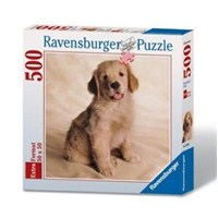 Ravensburger Golden Retriever Kare 500 Parça