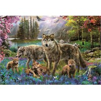 Educa 500 Parça Puzzle Wolf Family