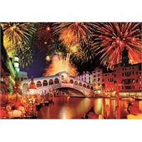 Educa 1500 Parça Puzzle Rialto Bridge Fireworks