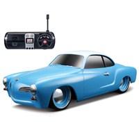 Maisto 1966 Volkswagen Karmann Ghiau Uzaktan Kumandalı Araba 1:24 Mavi