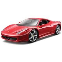 Maisto 458 İtalia 1:24 Model Araba Maket Kit Kırmızı