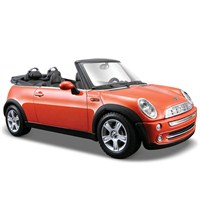 Maisto 2004 Mini Cooper Cabrio Special Edition Model Araba 1:24 Turuncu