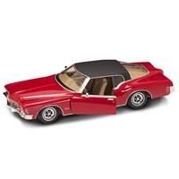 Yat Ming 1971 Buick Riviera Gs With Vinyl Top-92558 (Kırmızı-Siyah)