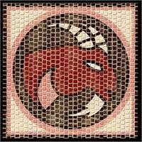 Mozaik Burçlar Serisi Oğlak