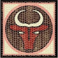Mozaik Burçlar Serisi Boğa