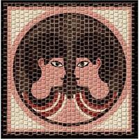 Mozaik Burçlar Serisi İkizler
