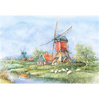 Castorland 1000 Parçalık Puzzle Countryside, Holland