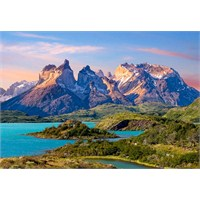 Castorland 1500Lük Puzzle Torres Del Paine, Patagonia, Chile