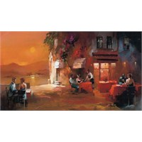 Art Puzzle Panorama Dinner For Two (1000 Parça)