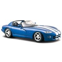 Maisto 1997 Dodge Viper Rt/10 Diecast Model Araba 1:24 Special Edition Mavi