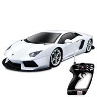 Maisto Lamborghini Avendator Lp700-4 Uzaktan Kumandalı Araba 1:10 Maisto Tech Beyaz