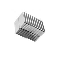 Neodyum Mıknatıs Blok 20X10x3 Mm (10'Lu Paket)