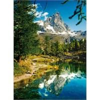 Matterhorn in The Mirror: The Lake (1500 parça)