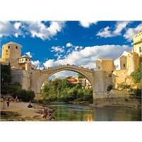 KS Games Old Mostar Bridge Bosna Hersek 500 Parça Puzzle