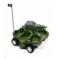 Aqua Trax Uzaktan Kumandalı Suda Gidebilen Tank (Yeşil)