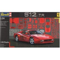 Revell Araba Ferrari 512