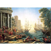 Liman / Seaport With The Embarkation Of St. Ursula