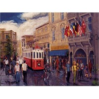 Art Puzzle 1000 Parça Puzzle İstiklal Caddesi - İstanbul, Türkiye