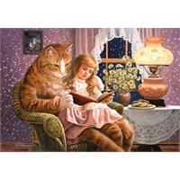 Castorland 1500 Parçalık Puzzle Home İs Where The Cat İs