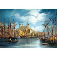 Castorland 3000 Parça Puzzle New Day At The Harbour